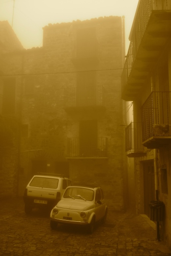 Geraci Siculo Street
