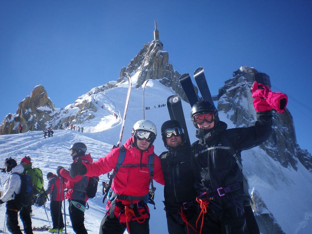Bilde 5 Gutta på toppen av Aguille du Midi