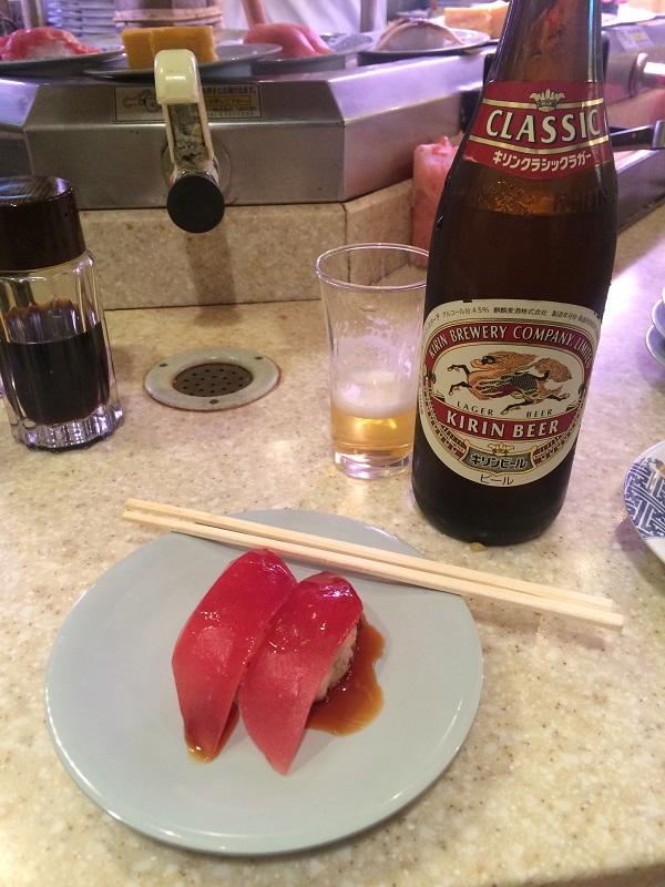 Sushitrain tuna